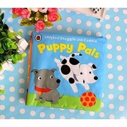 Soft Cloth Baby Books For Baby Learning Dogs, Fuzzy Book ,Classic Discovery Book