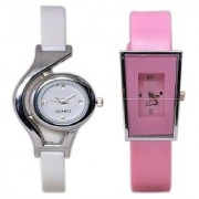 i DIVAS High Quality Style Glory Combo of 2 Analog Casual Wear Wrist Watches For Women