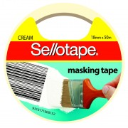 SELLOTAPE TAPE MASKING SELLO 18MMX50M(EACH)