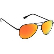 Invu Aviator Sunglasses(Orange, Yellow)