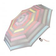 Esprit Umbrelă pentru femei Easymatic Light Summer Stripes Light Pastel