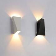 Deco-Led VLC Aplique Pared Led 10w Blanco-negro