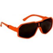 Yellow Mango Rectangular Sunglasses(For Boys & Girls)