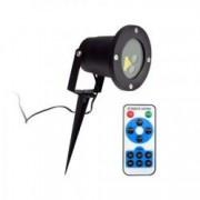 Proiector Laser LED Model Star Motion Shower cu Efecte de Lumini Miscatoare si Telecomanda 3D Ambiental Interior/Exterior