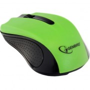 Mouse wireless Gembird MUSW-101, USB, 1200 DPI, Verde