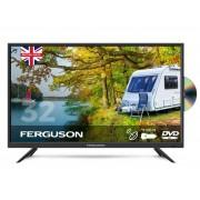Ferguson F32F Full HD Traveller TV w/ Built-in DVD Player & Satellite Tuner