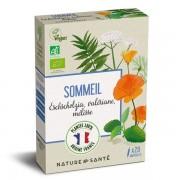 Nature & Santé Ampoules Bio Sommeil 20x10ml - Aux plantes françaises