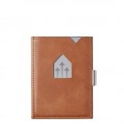 Exentri Leather Wallet RFID sand Dames portemonnee