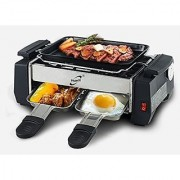 Electric Frying Pan with Electric Barbeque Grill With Omlet Maker (Premium Quality)