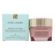 Estee Lauder Resilience Lift Crema de Noche Reafirmante/Moldeante para Cara y Cuello 50ml