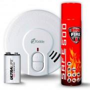 SET Detektor kouře Kidde 29HD-L + Hasicí sprej SAFE 500
