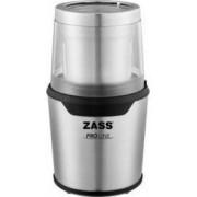 Rasnita de cafea Zass ZCG 10 85g 200 W Sistem 2 in 1 pentru cafea si condimente Inox