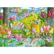 Puzzle Ravensburger - Tinutul Zanelor, 100 piese (10602)
