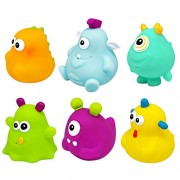 Knorrtoys Knorr Toys Knorr37028 Escabbo Happy Monster Bath Figures (6-Piece)