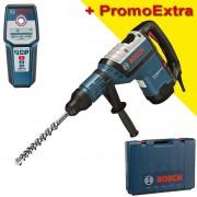 BOSCH GBH 8-45 D Ciocan rotopercutor SDS-max 1500 W, 12,5 J + GMS 120 Detector de metale