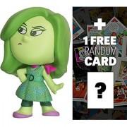 Disgust: ~2.3 Funko Mystery Minis x Disney Pixar Inside Out Mini Vinyl Figure Series + 1 FREE Classic Disney Trading Card Bundle [48792]