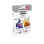 Swiss Energy Pastile pentru Gat cu Miere + 20 Ierburi Alpine