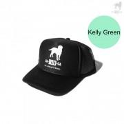 CA-RIO-CA Logotipo Trucker Hat Kelly Green CRC-H1001