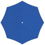 Paramondo Toile de parasol ronde 5 m, Paragrandi, Bleu