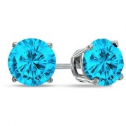 PeenZone 92.5 Silver Royal Look Ear Tops For Women Girls