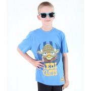 tričko chlapecké TV MANIA - Angry Birds / Star Wars - Blue - SWAB 325