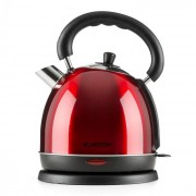 Klarstein Teatime ceainic 3000W 1.8L rosu rubin, otel inoxidabil Roșu