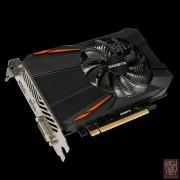Gigabyte GV-N1050D5-2GD, GeForce GTX 1050, 2GB/128bit GDDR5, DVI/HDMI/DP, GIGABYTE Cooling