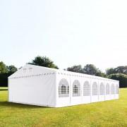 taltpartner.se Partytält 7x36m PVC 550 g/m² vit vattentät