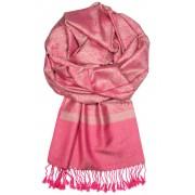 Arika Pink kašmírová šála růžová