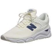 New Balance Women's X90 V1 Sneaker, SEA SALT/VINTAGE INDIGO, 6 B US