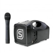 "Skytec ST-010 Megaphone 5"" Portable Loud Speaker with USB & Microphone"