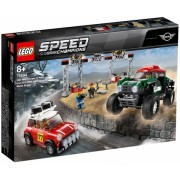 1967 Mini Cooper S Rally si 2018 MINI John Cooper 75894 LEGO Speed Champions