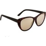 Farenheit Cat-eye Sunglasses(Green)