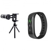 Telescope Mobile Lens and D115 smart band||Telescope Lens|| Mobile Lens||Universal Mobile Lens ||Telescope Lens||Zoom Lens||So Best and Quality Compatible with all your devices AGU_201