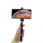 Shop4 - iPhone Xs Max Selfie Stick Bluetooth Groen