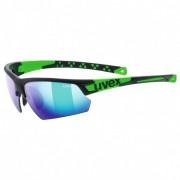 Uvex Sportstyle 224 Mirror S3 Occhiali da sole verde