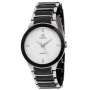 IIK Collection White Dial Metal Analog Watch For Men By Hans-005