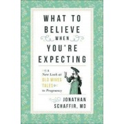 What to Believe When You're Expecting: A New Look at Old Wives' Tales in Pregnancy, Hardcover