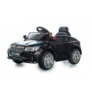 Brunte Battery Operated Licensed Bmw Kids Ride-On Sedan Car With Sound And Music Remote Control- Black