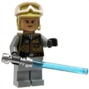 Lego Star Wars Mini Figure - Luke Skywalker Hoth with Lightsaber (Approximate