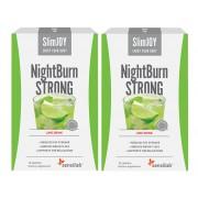 SlimJOY Queimador de gordura NightBurn com um efeito STRONG. Com sabor a limão. 20 saquetas