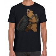 5.11 Tactical 5.11 Grizzly S/S Tee, Black 019 (Gr. S)