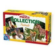 DToys Puzzle Collection 4u1 Animals 01 (07/63069-01)