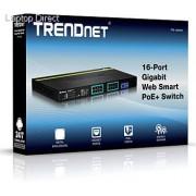 Trendnet 16-Port Gigabit Web Smart PoE+ Switch