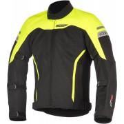 Alpinestars Leonis Drystar Air Motorcycle Textile Jacket Black Yellow L