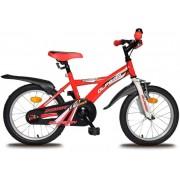 Olpran dječji bicikl Dommy 16, bijelo/crveni