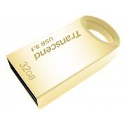 Transcend JetFlash® 710G USB-minne 32 GB Guld TS32GJF710G USB 3.1
