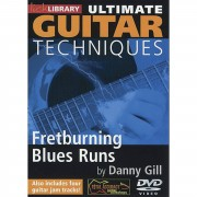 Roadrock International Lick Library: Ultimate Guitar Techniques - Fretburning Blues Runs DVD