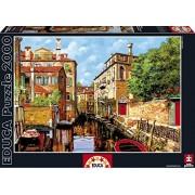 Educa Luce A Venezia Canal Puzzle, 2000-Piece