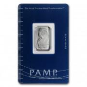 PAMP Švýcarsko investiční platinová cihla 5 g